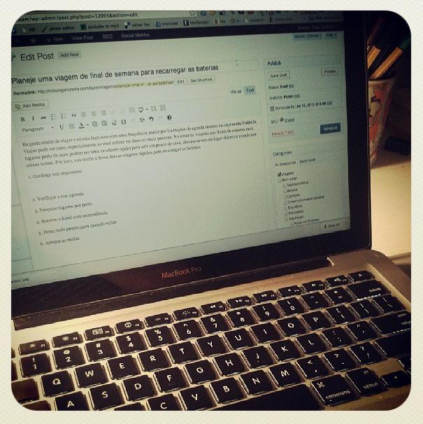 Imagem do meu Instagram: /blogvidaorganizada