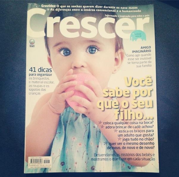 Revista Crescer, fevereiro 2014
