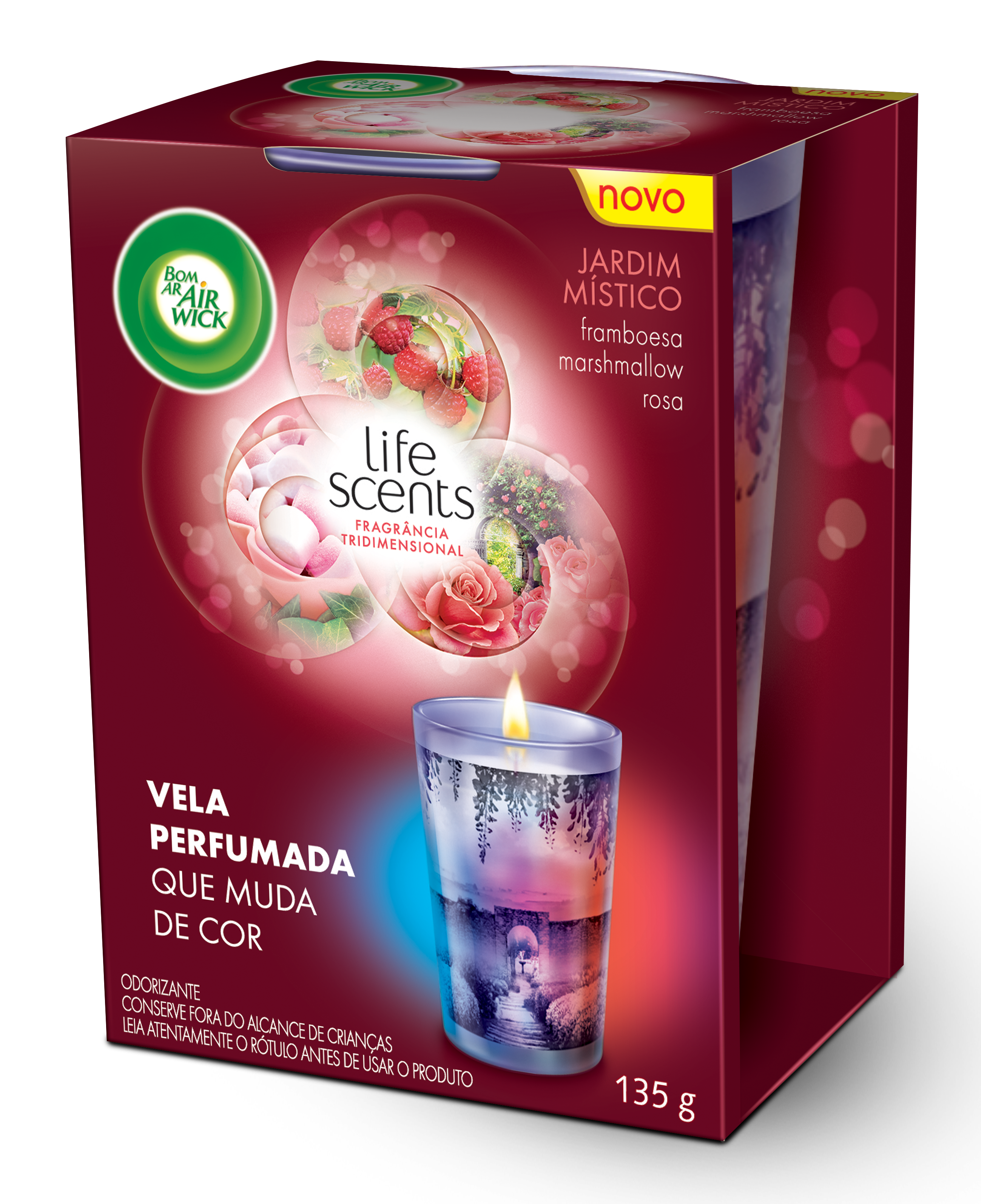 Life scents Jardim M°stico VELA