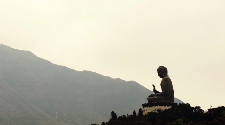 buddha_on_the_mountaintop_by_drakexaos-d4seng1