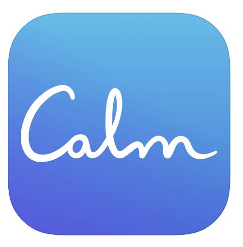 App: Calm – vida organizada